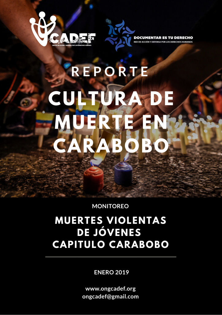 CULTURA DE MUERTE EN VENEZUELA